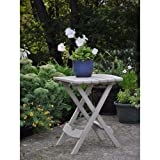 Adams Manufacturing Quik-Fold Desert Clay Patio Side Table