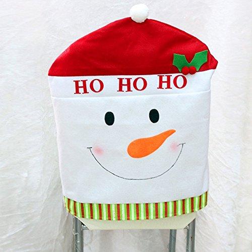 Snowman Chair Back Cover