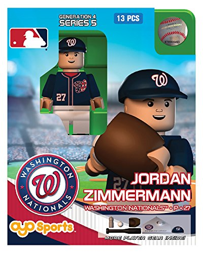 Jordan Zimmerman MLB Washington Nationals Oyo G4S4 Minifigure