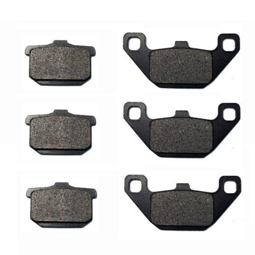 1984-1986 Kawasaki ZX 900 Ninja Kevlar Carbon Front & Rear Brake Pads motorcycle front and rear brake pads for kawasaki kx250 1989 1993