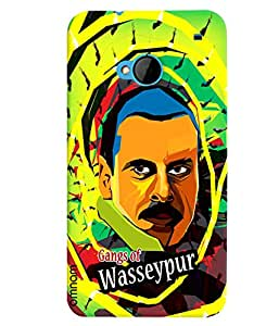 Omnam Hero printed Gangs of wassepur back cover for HTC One M7