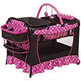 Minnie Mouse Play Yard Bassinet Playpen Crib Diaper Changer by Disney
