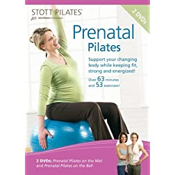 Stott Pilates Prenatal Pilates DVD (Set of 2)