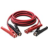 Lumenon 20 Foot Jumper Cables with Carry Bag - 4 Gauge, 500 AMP Booster Cable Kit