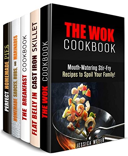 Savory Recipes Box Set (5 in 1): Wok, Breakfast, Sauce and Pie Recipes for Every Occasion (Weight Loss & Burn Fat) by Jean Rodgers, Carrie Bishop, Jessica Meyer, Bessie Alvarez