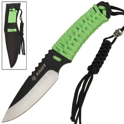 Zombie Killer Outdoor Emergency Drop Point Knife