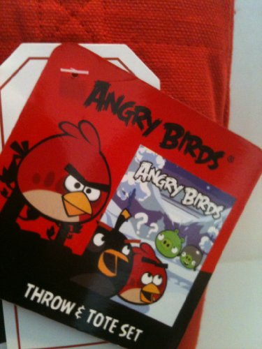 Angry Birds Tote Bag & Throw Blanket Set - 1