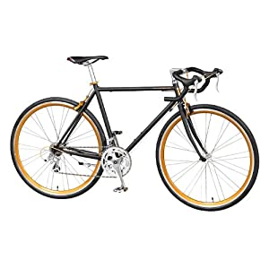自転車の 自転車 フォーク アルミ クロモリ : 700c ロードバイク クロモリ ...