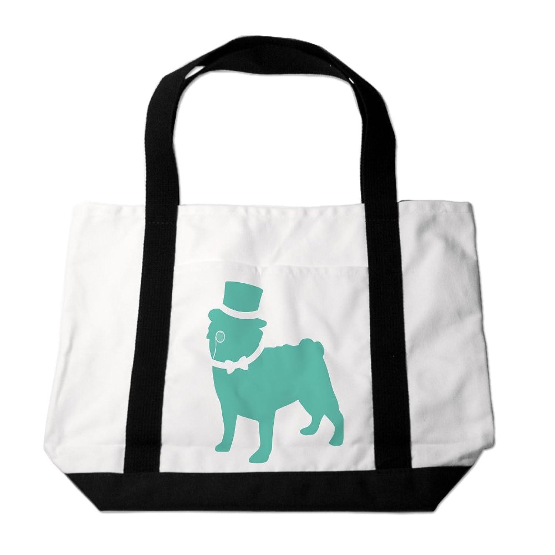 Fancy Pug Tote Bag