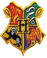 Harry Potter gryffindor hogwarts house school Harry Potter Embroidered sew Iron on cloth patch badge Kids Fancy Dress patches Harry Potter wand tie robe blu ray dvd box set
