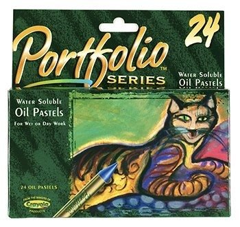 * WATER SOLUBLE OIL PASTELS 24 CT