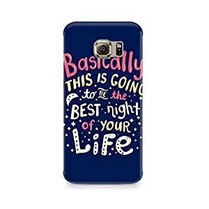 Mobicture Best Life Premium Printed Case For Samsung S7