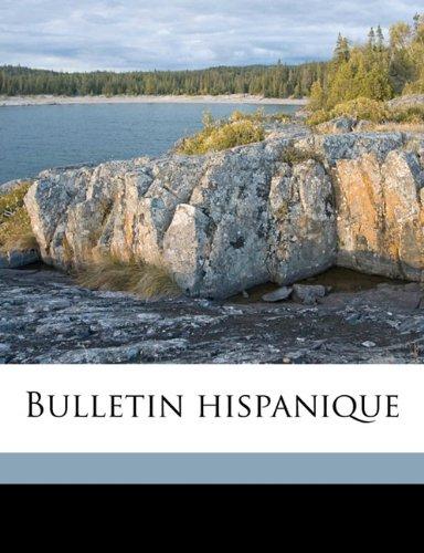 Bulletin hispaniqu, Volume 2