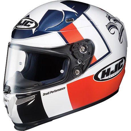 HJC Ben Spies Replica Men's RPS-10 On-Road Racing Motorcycle Helmet - Color: MC-21, Size: LargeHJC Ben Spies Replica Men's RPS-10 On-Road Racing Motorcycle Helmet - Color: MC-21, Size: Large