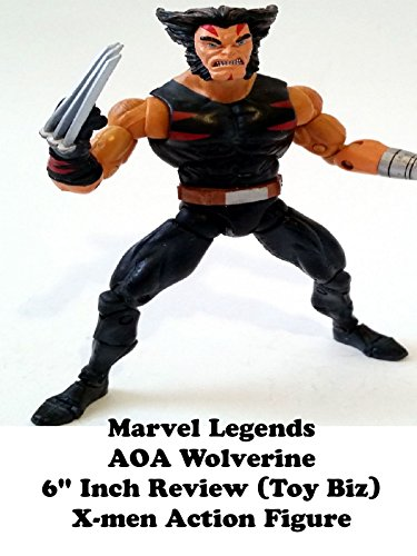 "Marvel Legends AOA Wolverine Review 6"" inch X-men action figure toy"