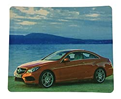 Storite Soft Printed Natural Scene Mouse Pad Mat finish 3mm thickness size 20 cm x 24 cm Non-slip Rubber base (Style 2)