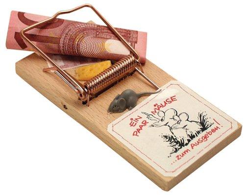 Mäusefalle Geld