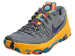 nike KD 8 mens basketball trainers 749375 sneakers shoes (us 14, Wolf Grey/Crt Purple-Cool Grey-Blue Lgn 050)