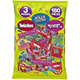 Hershey's Halloween Assortment (Twizzlers, Jolly Rancher, Bubble Yum Sweets Assortment), 48-Ounce Bag
