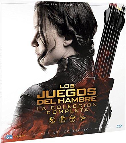 Pack Saga Los Juegos Del Hambre Colección Vintage Collection (Funda Vinilo) - The Hunger Games Complete Collection Vinil [Non-usa Format: Pal -Import- Spain ]