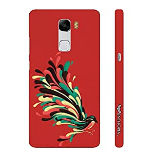 Huawei Honor 7 Colourful Koyal designer mobile hard shell case by Enthopia