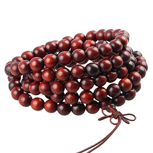 sunyik-blood-sandalwood-108-tibetan-buddhist-mala-bracelet-beaded-prayer-bead8mm