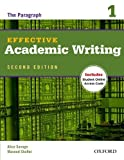 img - for By Alice Savage Effective Academic Writing 2e Student Book 1 (2 Csm Pap/) book / textbook / text book