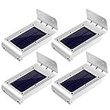 LE Zweite Generation 4er Pack 16 LEDs LED Solarleuchten Mit