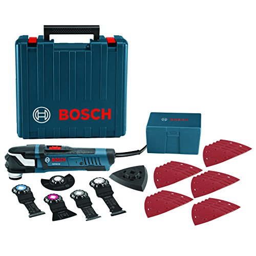 Bosch GOP40-30C StarlockPlus Oscillating Multi-Tool Kit with Snap-In Blade Attachment (Oscillating Tool Blades Bosch compare prices)