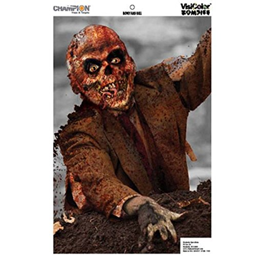 Champion Boneyard Bill Zombie Target (Pack of 10, 24x45) (Shooting Targets 24x45 compare prices)