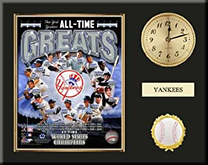 New York Yankees All Time Greats Team Composite Photo Inserted In A Gold Slide In... by Art and More, Davenport, IA