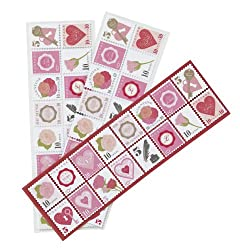 Martha Stewart Crafts Valentine Stamp Stickers