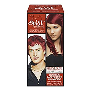 Splat Complete/Semi Permanent Hair Colour Kit Luscious Raspberry