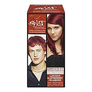 Splat Complete/Semi Permanent Hair Colour Kit Luscious Raspberry