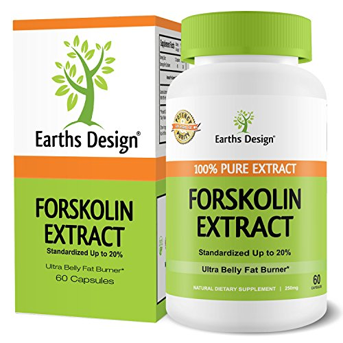 Forskolin For Weight Loss, Pure Extract, With Active Fat Bur