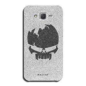Mozine Alien Skull Printed Mobile Back Cover For Samsung Galaxy On5
