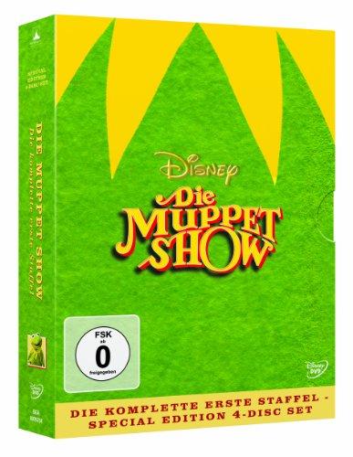 Die Muppet Show - Die komplette erste Staffel (Special Edition, Digipak im beflockten Schuber) [Limited Edition] [4 DVDs]