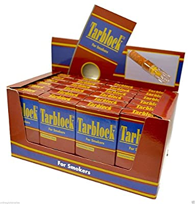 Tarblock Cigarette Filters