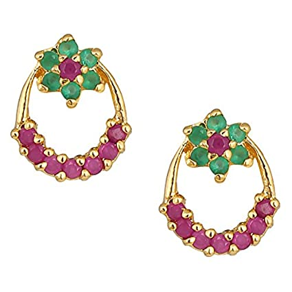 Parinaaz-CZ-Stud-Earring-for-women-ST71