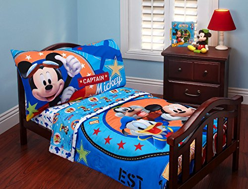 Disney Baby Mickey Mouse Toddler Bed Set - 1