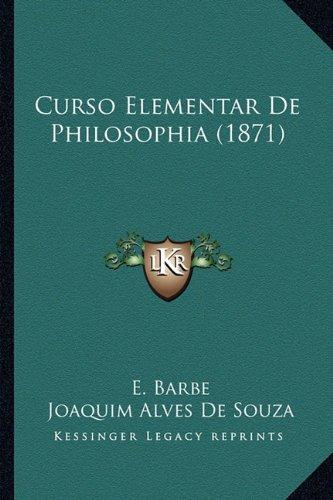 Curso Elementar de Philosophia (1871)