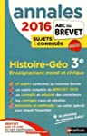 Annales ABC du BREVET 2016 Histoire -...