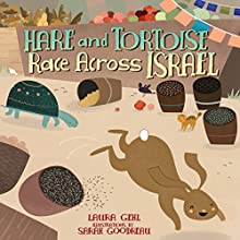 Hare and Tortoise Race Across Israel | Livre audio Auteur(s) : Laura Gehl Narrateur(s) :  Book Buddy Digital Media
