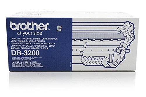 Originale Brother DR-3200 tamburo di stampa (ca. 25.000 Pagine) per DCP 8070, 8080, 8085, 8880, 8890; HL 5340, 5350, 5370, 5380; MFC 8370, 8380, 8880, 8885, 8890