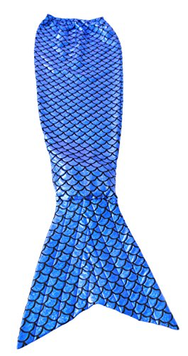JustinCostume Women's Shiny Metallic Mermaid Tails Costume Halloween Party Dress