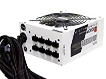 NZXT HALE90 80 Plus Gold 1000 Watt Power Supply with Modular Cable HALE90-1000-M (White)