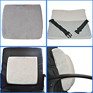 Lower Back Support Cushion Lumbar Pillow For Desk Office