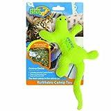 Cheap 100-Percent Catnip Filled Lizard Cat Toy, Groovy Gecko ❁