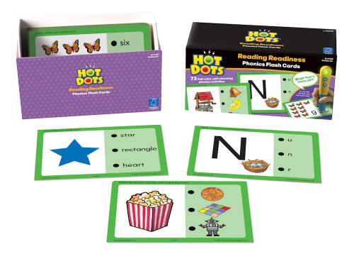 Educational Insights Hot Dots Reading Readiness
