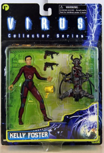 Virus Movie Collector Series Jamie Lee Curtis as Kelly Foster Action Figure - 1
